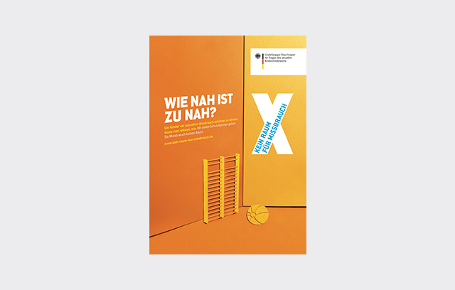 """Plakat der Kampagne """"Kein Raum für Missbrauch"""""""